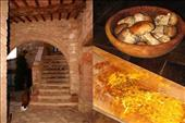 cooking and architecture in tuscany